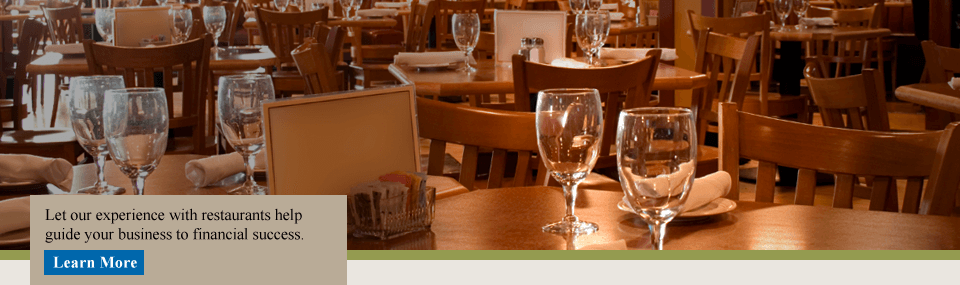 We understand your restaurant.